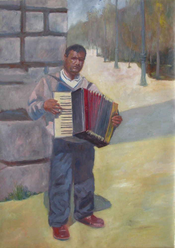 The Accordian Player - Eric Soll