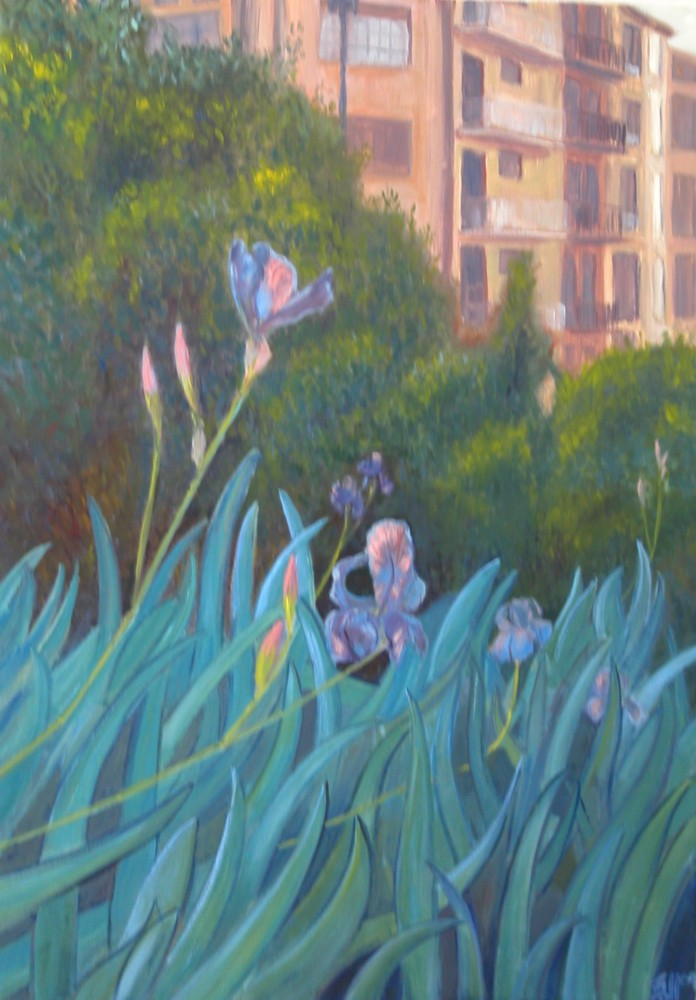 Irises in Pamplona - Eric Soll