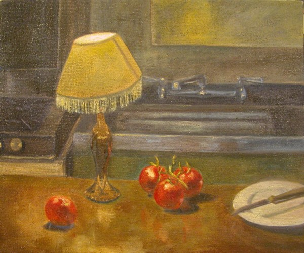 Tomatoes in Urban Kitchen - Eric Soll