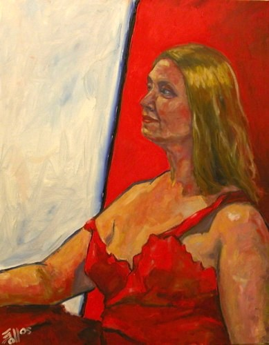 Model in Red - Eric Soll